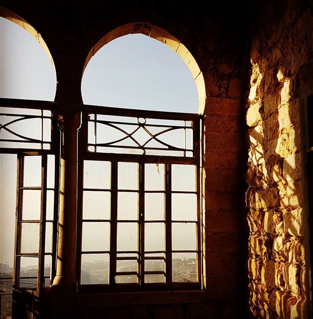 Through the windows of time, sunsets of life and shadows of hope... abey ... (Abey, Mont-Liban, Lebanon)