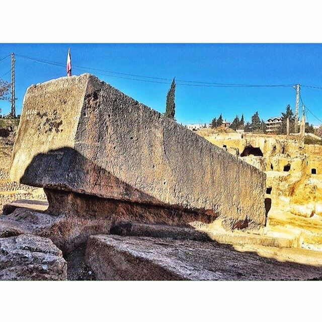 The World's Largest Stone (19x6 meters) Baalbeck City Of The Sun .