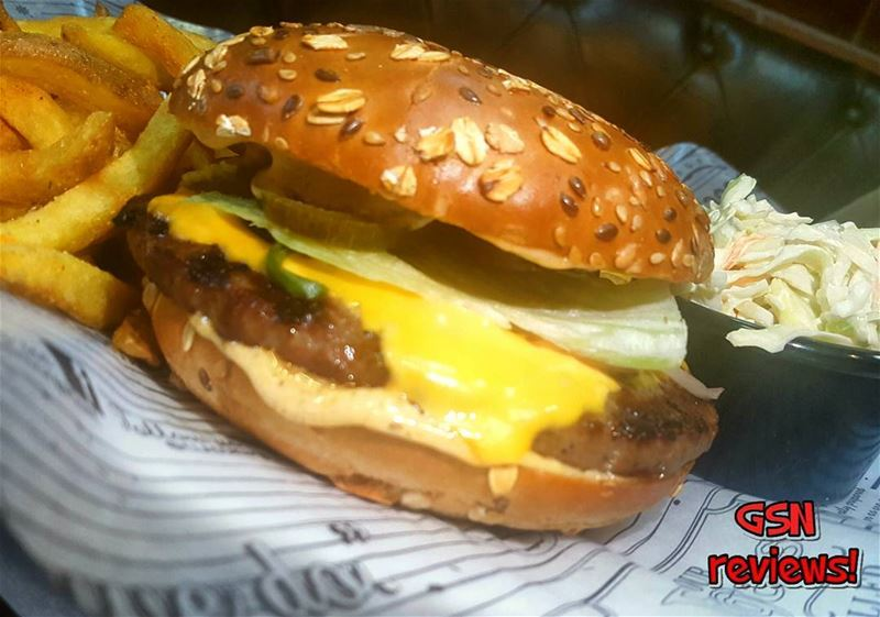 Grilled beef patty, mexican sauce, jalapeno and american cheese. This is... (Classic Burger Joint Hazmieh)