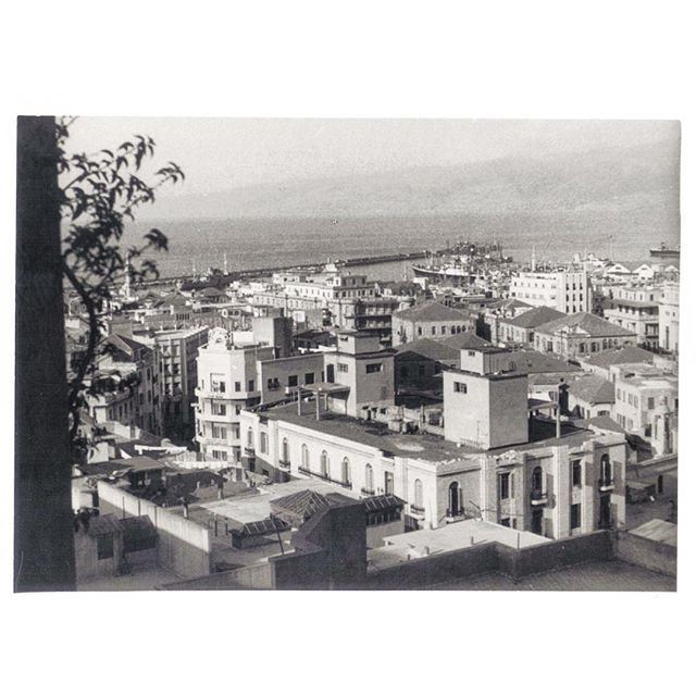 Beirut Downtown In 1954 .