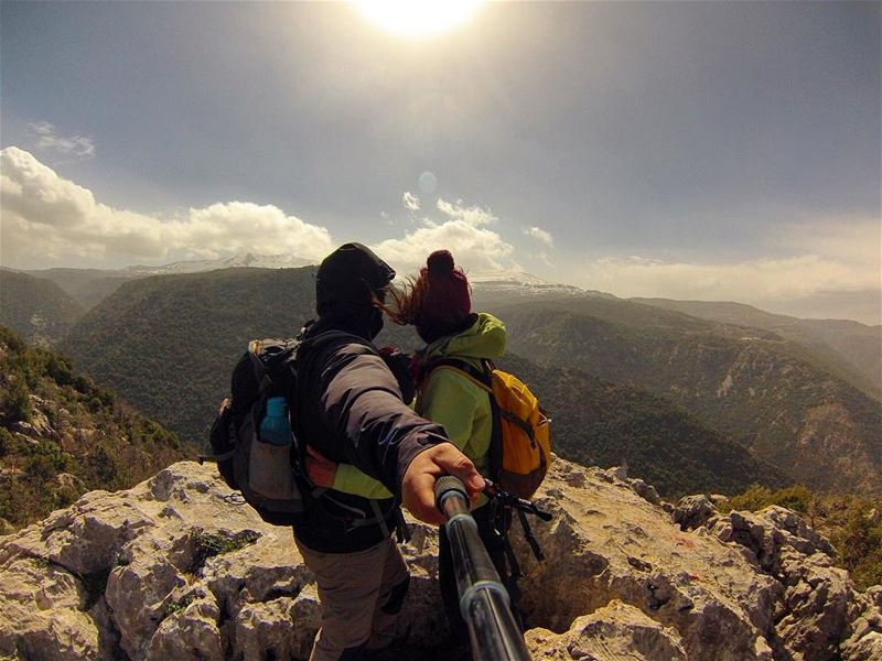 lebanon nature outdoors landscape mountain hike hiking gopro ...