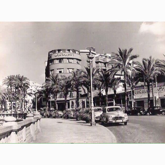 Beirut Normandy Hotel Near Zaytoune In 1954 .