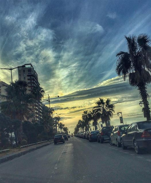 Parallel Infinities....... beirut sunset nature_perfection nature...