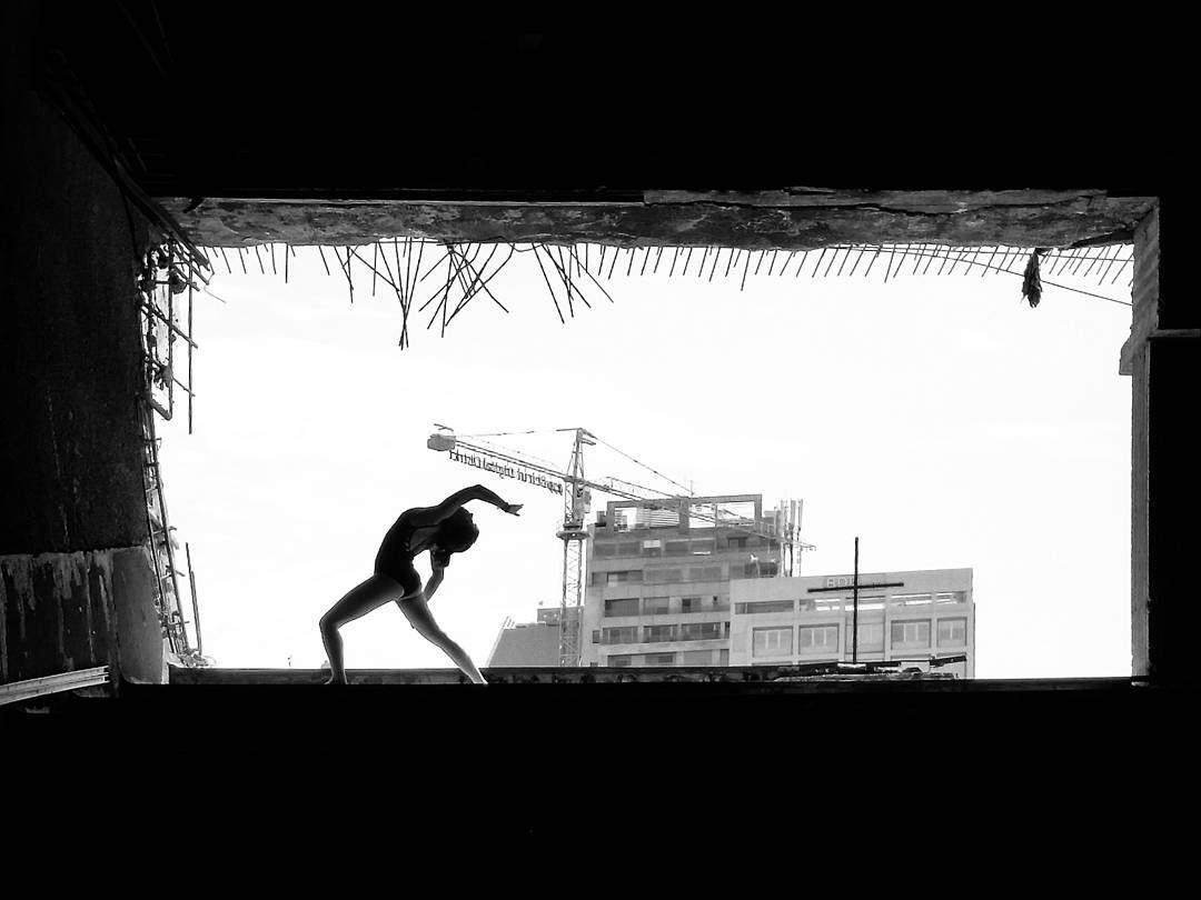~ The Egg ~... abandoned abandonedplaces ballet ballerina ... (Beirut, Lebanon)