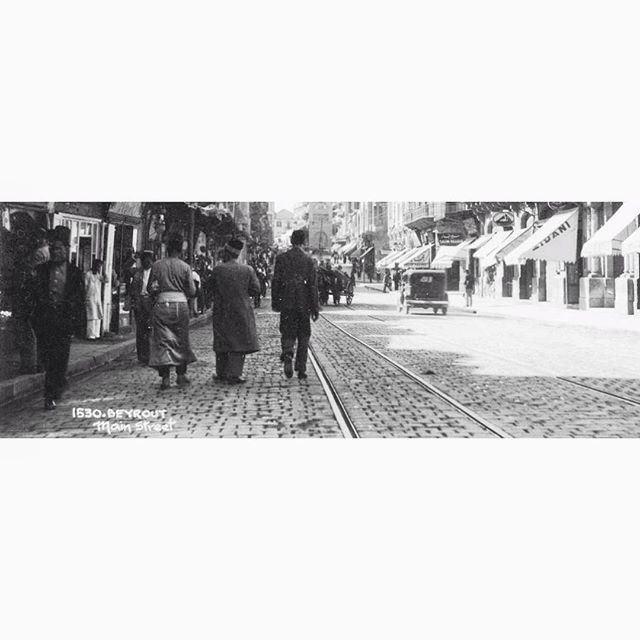 Beirut Weygand Streer In 1929 .