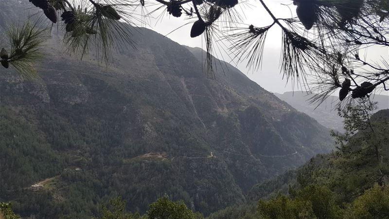 Sneak peek valley mountains rain backtowinter outdoors hdr_captures...