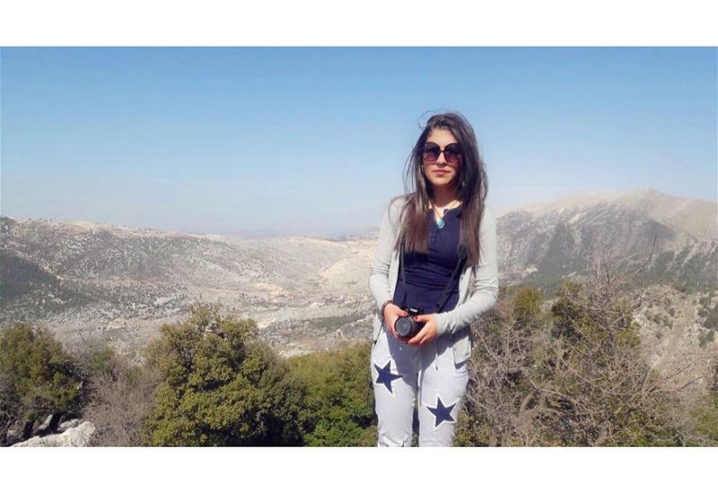 today sunday hiking aramta jezzine beautiful lebanon mountains trees sky... (Aramta - Jizin)