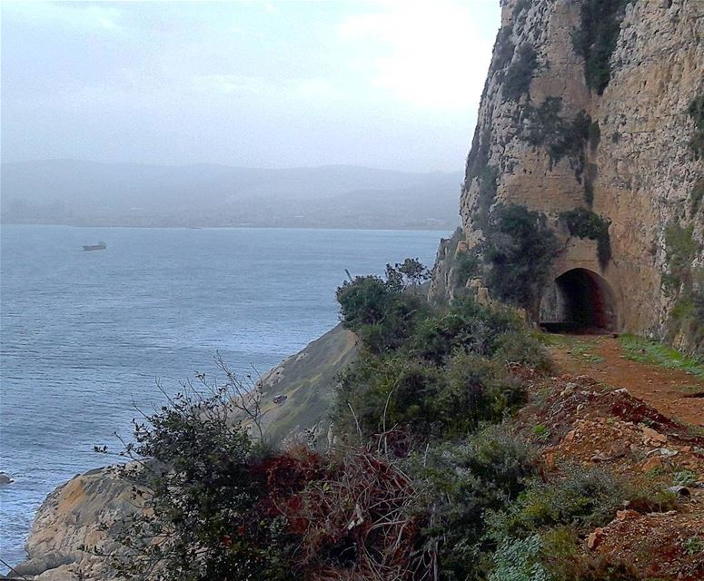 The seaside of Ras ech Chakaa RasEchChaqaa Mediterranean ... (Râs ech Chaqaa)