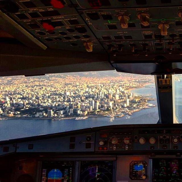 When landing in Beirut travel beirut lebanon lebanon_hdr life like ... (Beirut, Lebanon)
