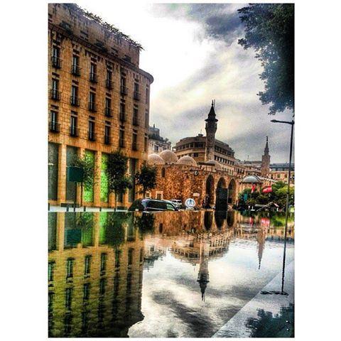 Beirut Emir Assaf Mosque, Weygand street In 2015 .