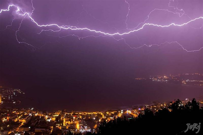 Ceraunophilia (n ) Loving thunder & lightning and finding them intensely... (Residence Samaha)