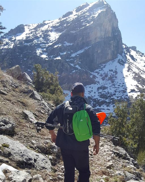 Walk the talk 💃 keepwalking outdoors mountains lebanon_hdr ...
