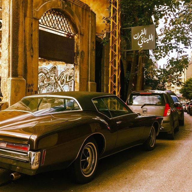 Back to the 80s ⏳ (Achrafieh, Lebanon)