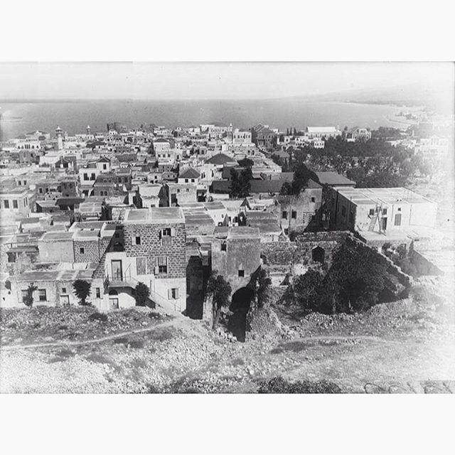 Saida In 1918 .