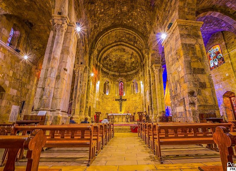 byblos church maronite catholic lebanon ... (St Jean Marc Church, Byblos)