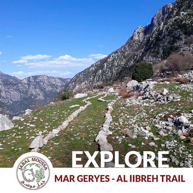 "Visit JabalMoussa and discover the new ""Mar Geryes- Al iibre"" trail.~... (Jabal Moussa)"