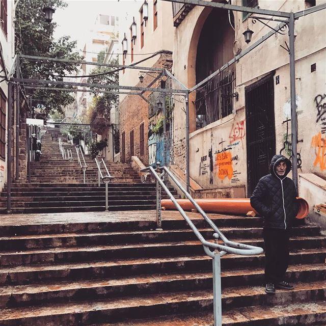Life happens☔️ Lebanon tb travel travelgram traveler wanderlust... (Gemmayze)