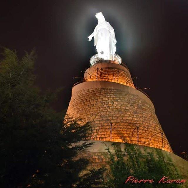 Our lady of Lebanon virgin_marry marry harissa nofilter nikon ...