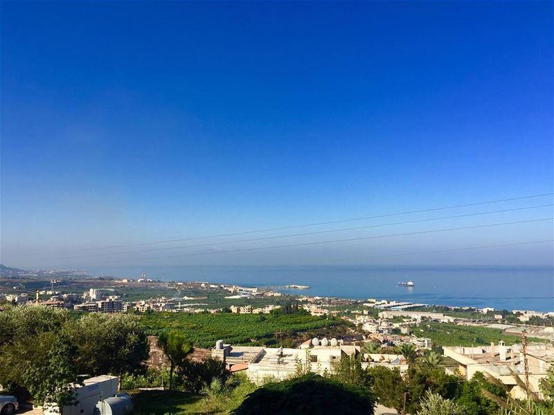 morning jnoubing jnoub bluesky lovelyday goodweather☀️ livelovejnoub... (South Lebanon)