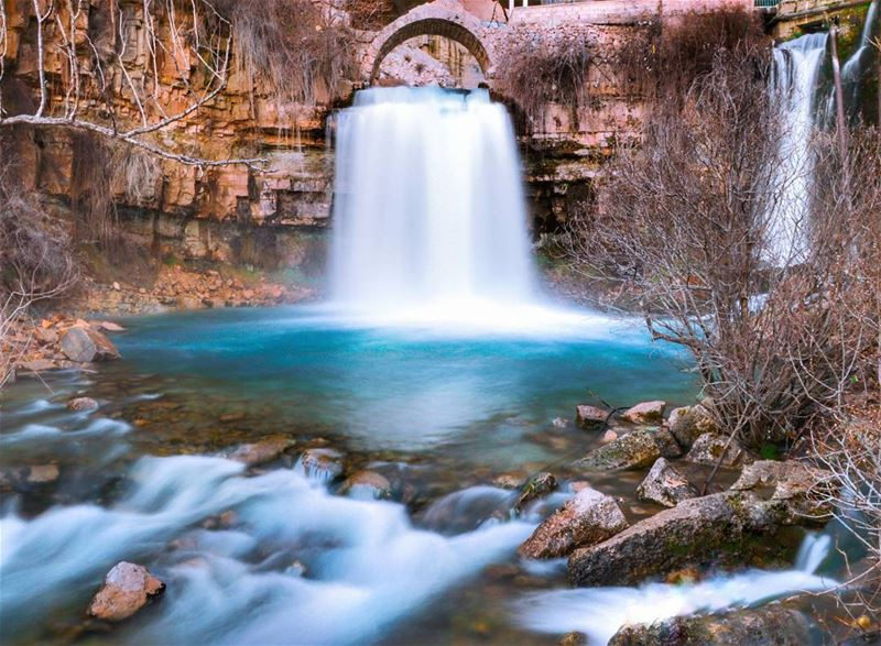 Water is the driver of nature 📷..... nature waterfall blue water... (Afqa)