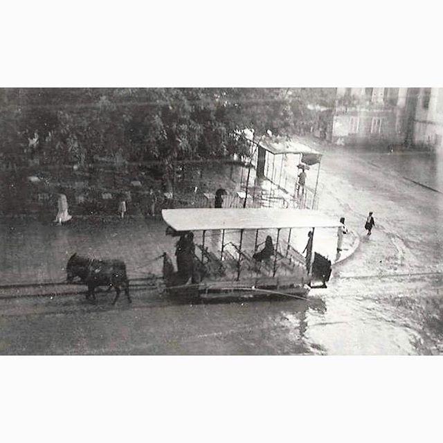 Tramway Tripoli In 1932 ,