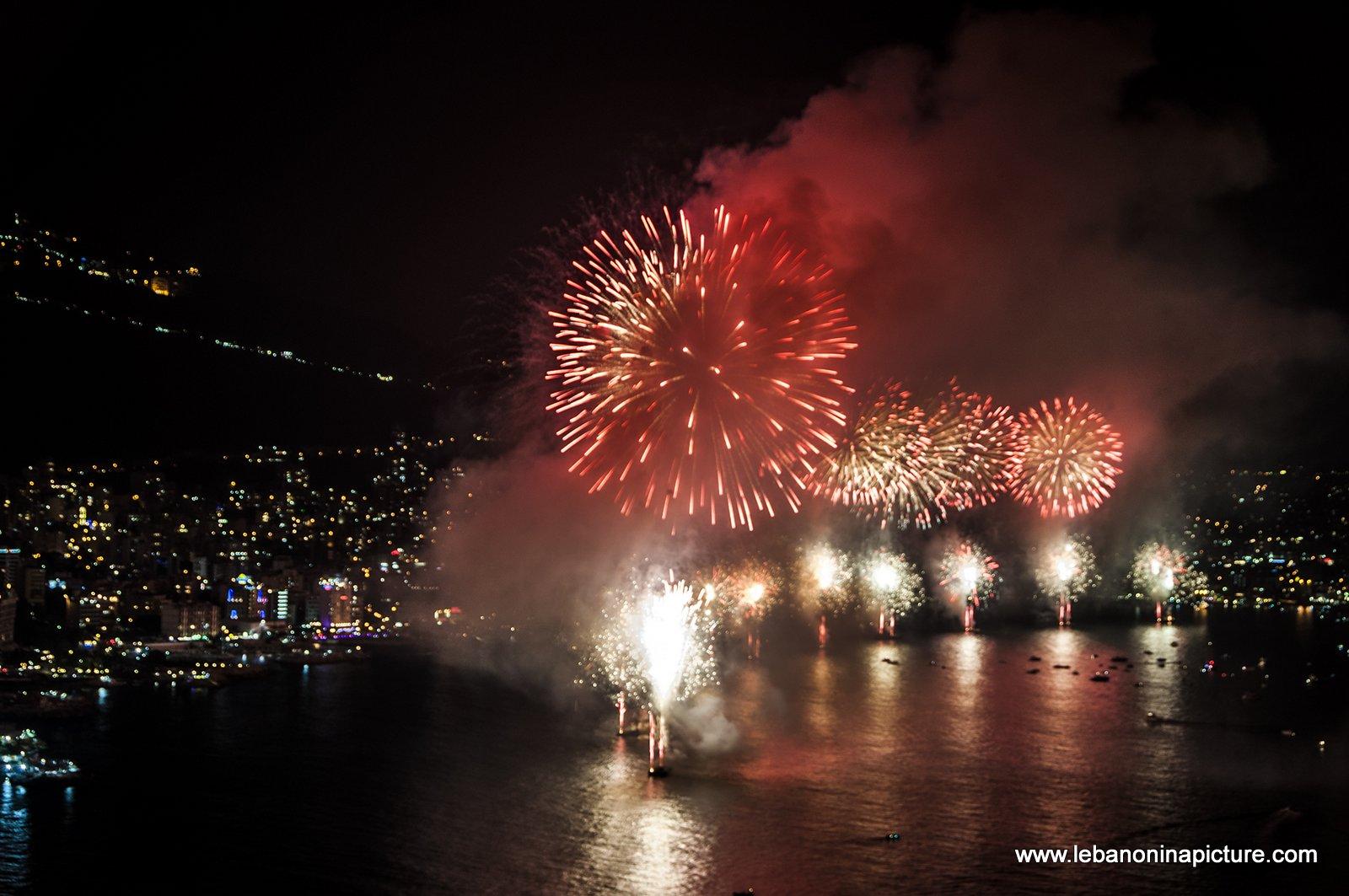 Jounieh Fireworks 2017 - Happy Birthday!