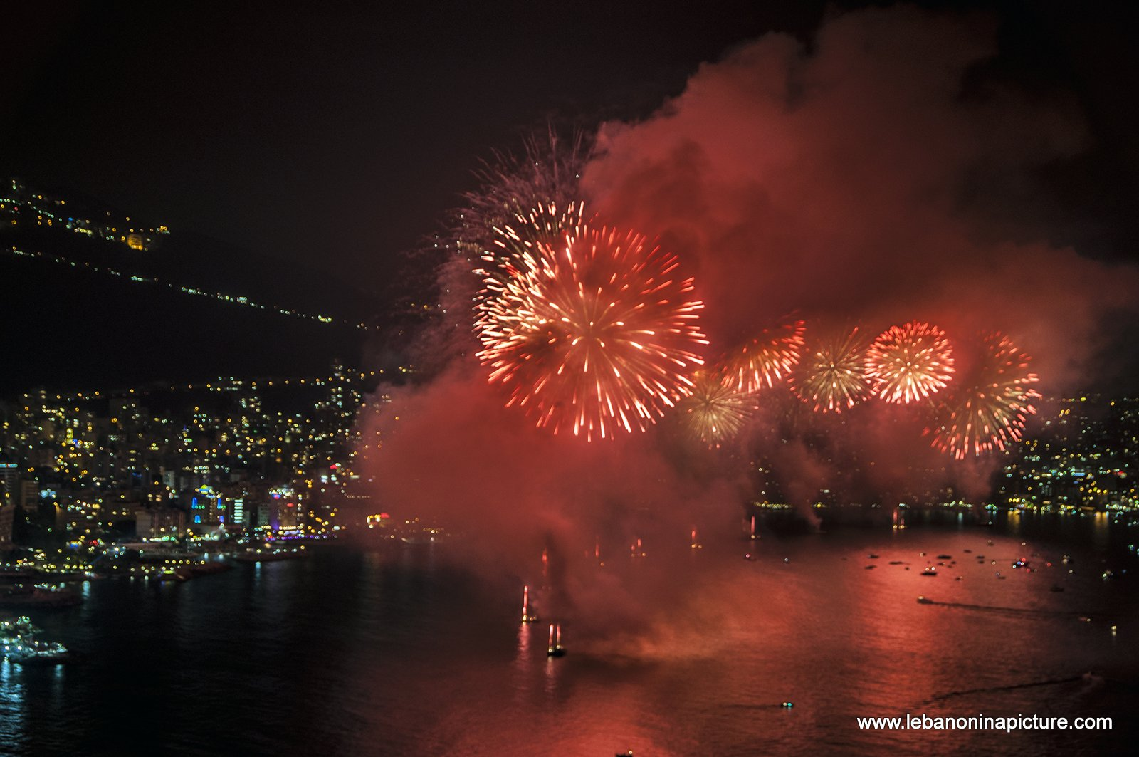 Jounieh Fireworks 2017 - I Can't Breathe...
