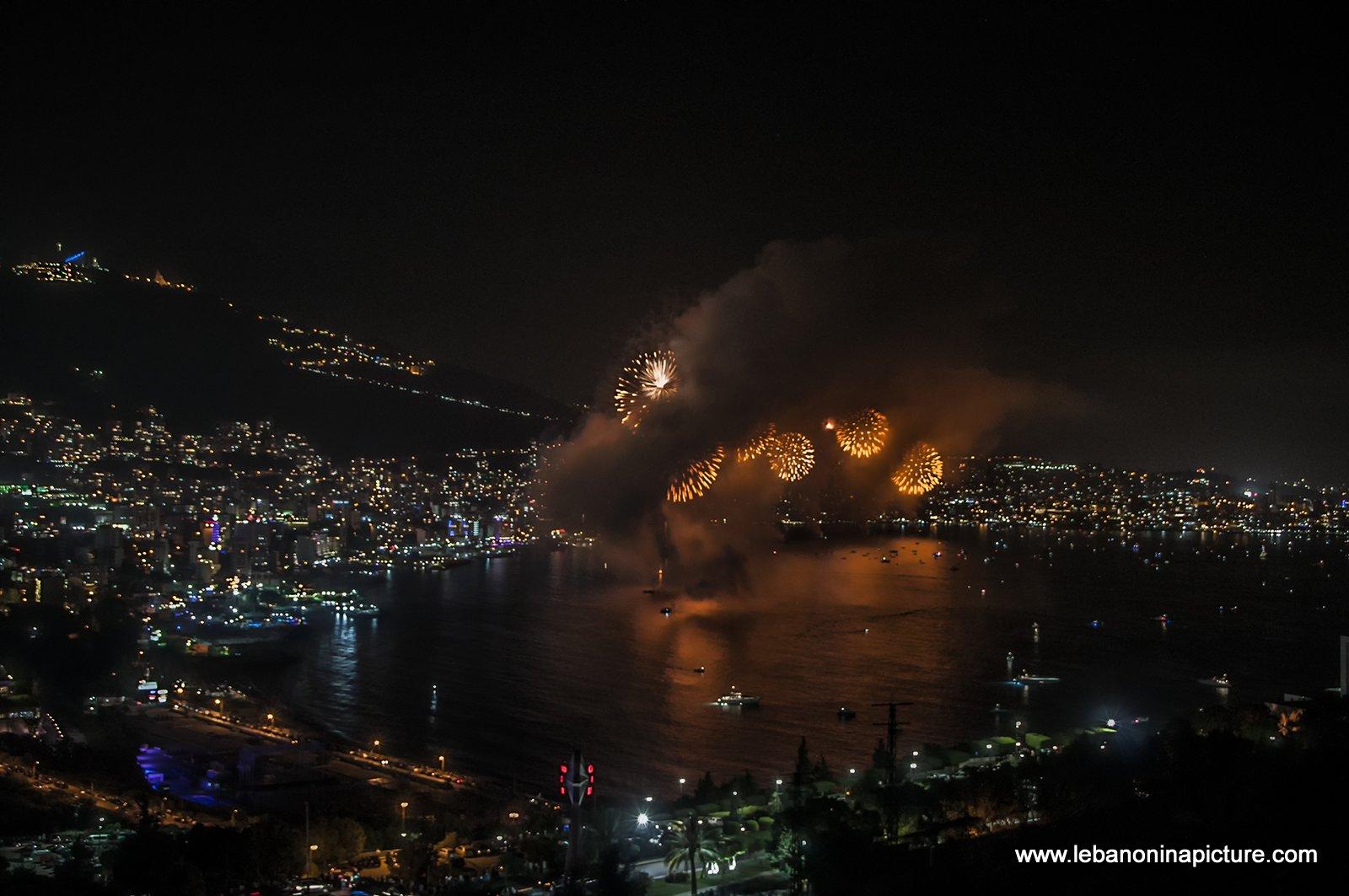 Jounieh Fireworks 2017 - Lost
