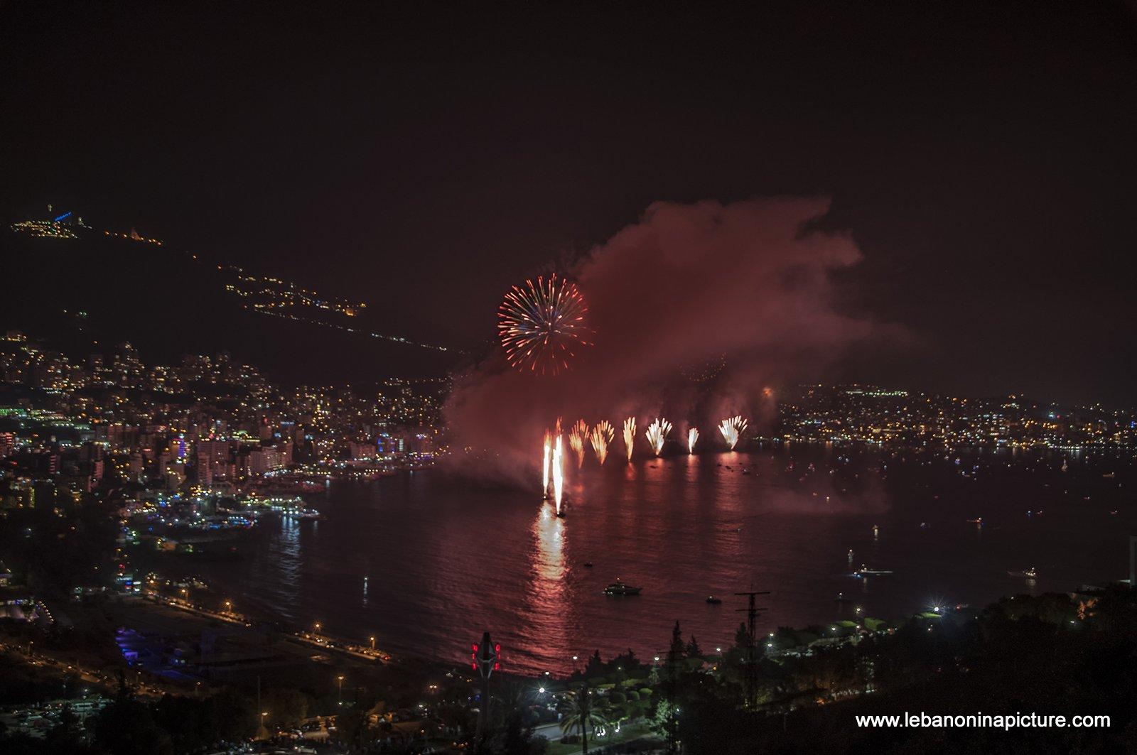 Jounieh Fireworks 2017 - More Smoke