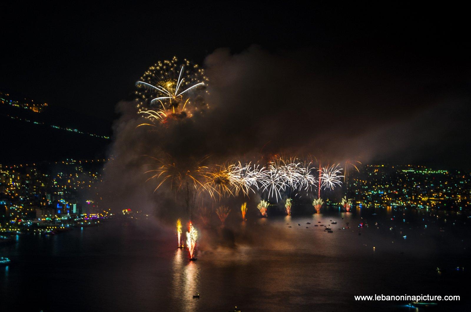 Jounieh Fireworks 2017 - Rising