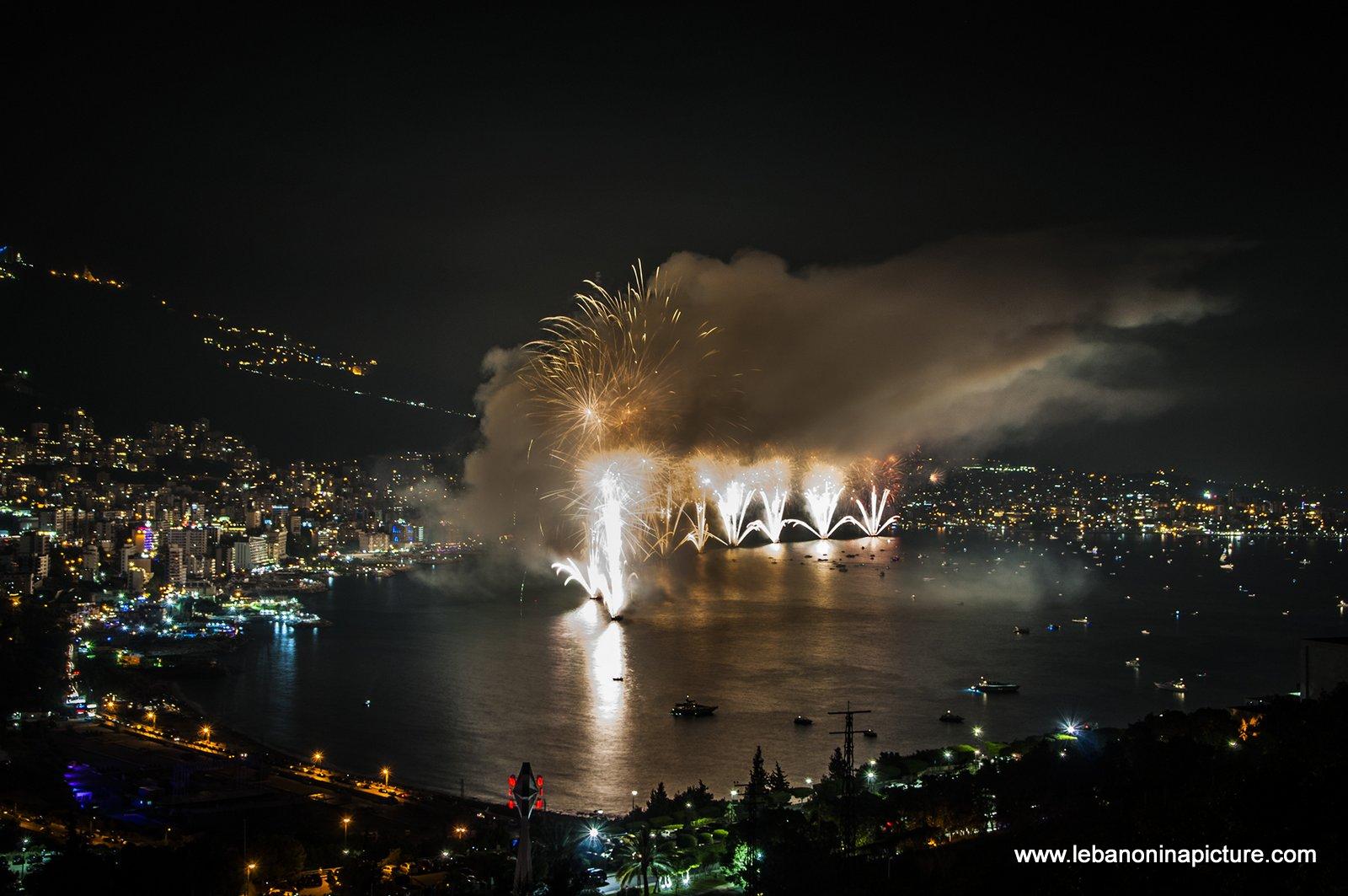 Jounieh Fireworks 2017 - Release the Gracken